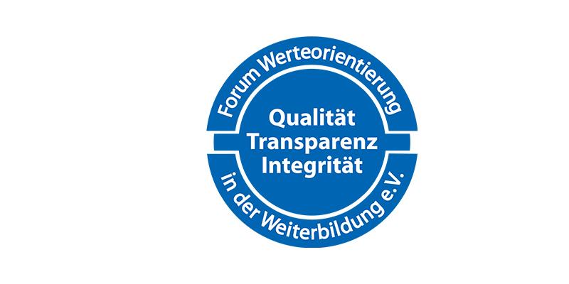 Qualitätsstandard Transparenz Integrität